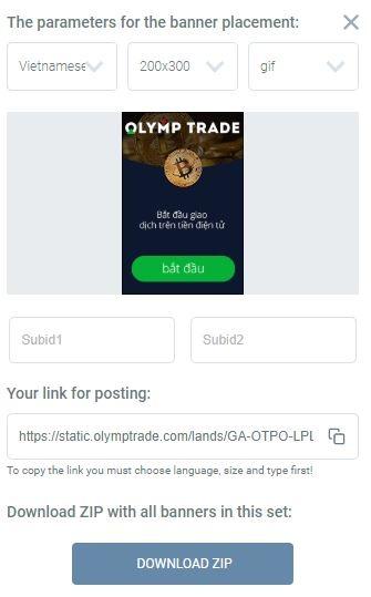 Download banner Olymp Trade - Hướng dẫn sử dụng Kingfin