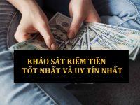 Top trang khảo sát kiếm tiền nhiều nhất và uy tín (CÓ CHỌN LỌC)