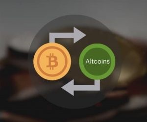 Dùng bitcoin mua altcoin trữ