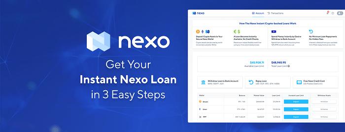 Gửi lãi suất tiết kiệm với Nexo