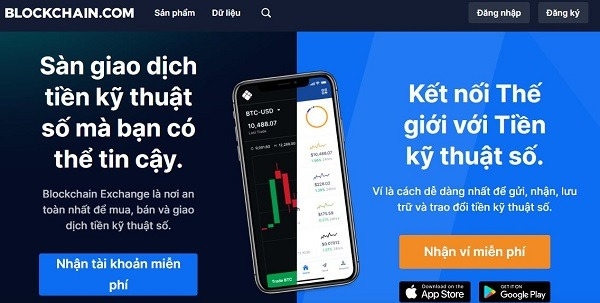 ví blockchain - ví tiền điện tử tốt nhất