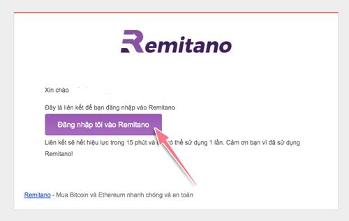 Hướng dẫn Remitano